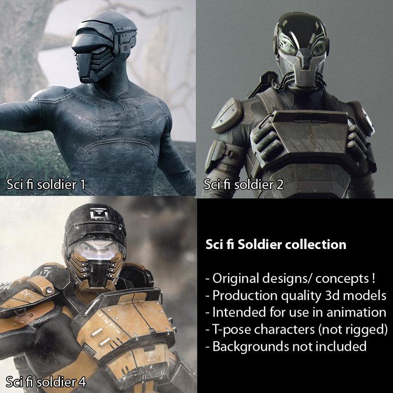 3d obj scifi - sci fi