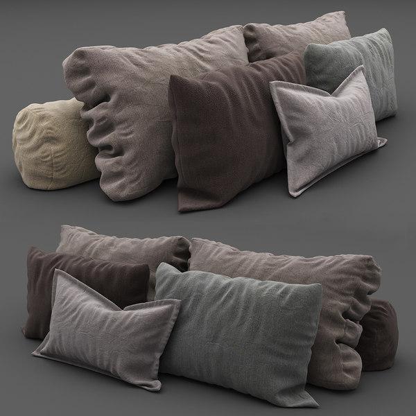 pillows 101 3d model