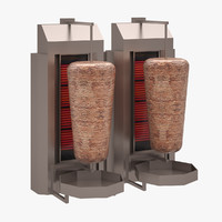 turkish doner izmirinox 3d max