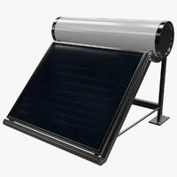 solar heater 2 obj