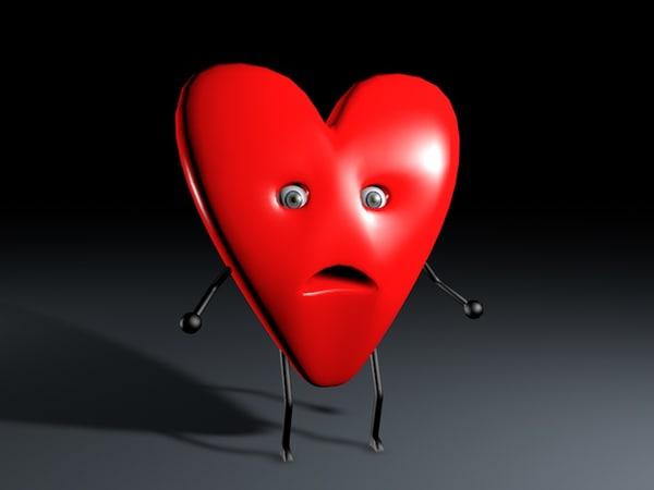 3d model mr heart
