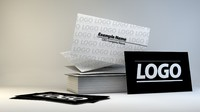 3d business card booth
