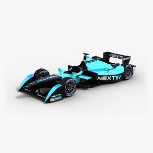 nextev formula e team 3ds
