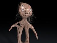 3d model zombie tuberculo