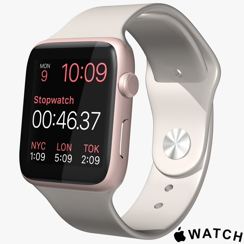 max apple watch pink