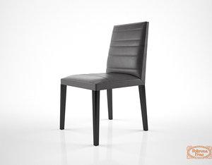 poltrona frau louise chair 3d max