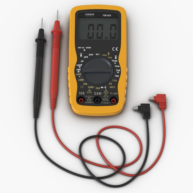 multimeter set 3d model