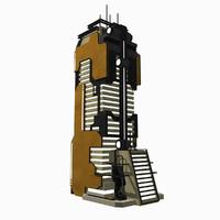 - sci fi building max