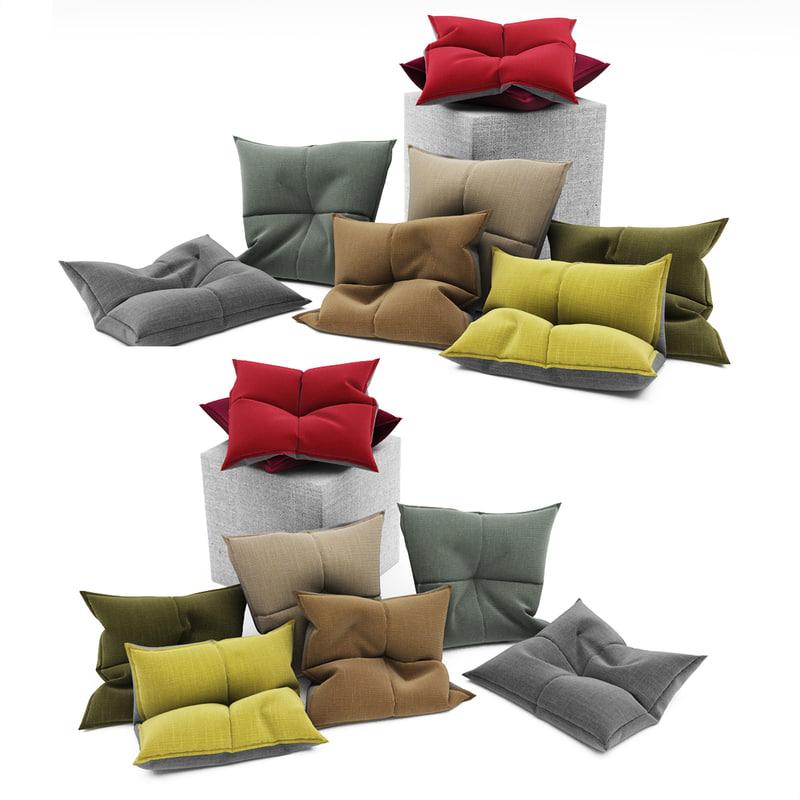 3dsmax pillows 102