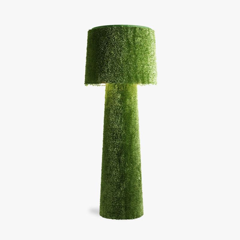 3d model of lamp erbavoglio