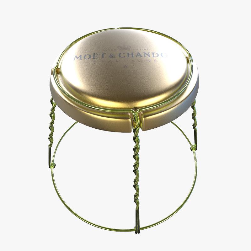 champagne cork metal max