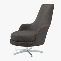 Flexform Gusciolato Soft Chair