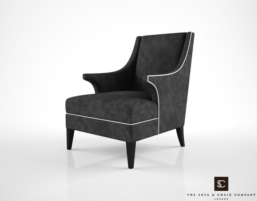3d sofa chair company bishop model
