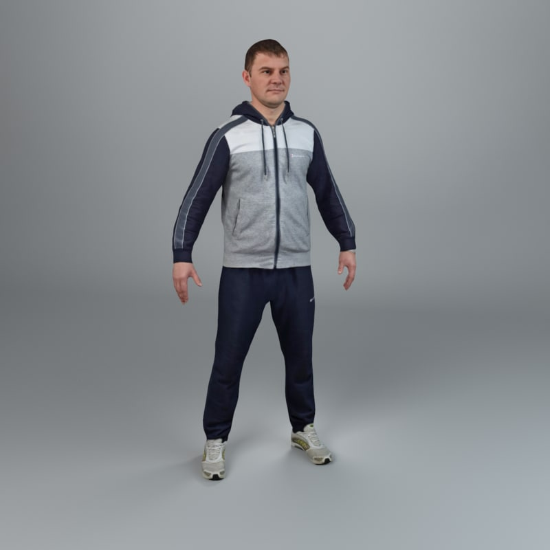 max human rigging ready