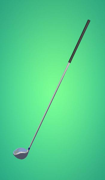 golfclub golf 3d model