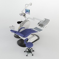 3d model of dental equipment