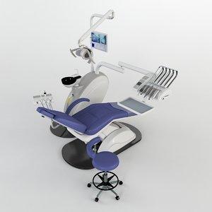 3d model of dental equipment