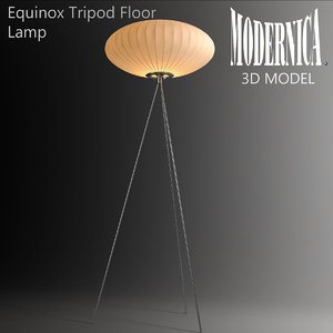 maya modernica equinox tripod floor lamp