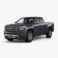 gmc canyon 2016 all-terrain 3d model
