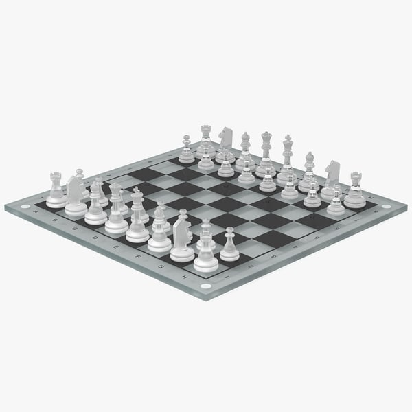 3ds chessboard glass