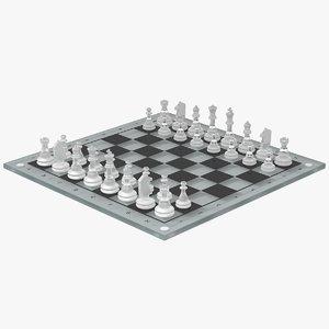 3ds chessboard glass