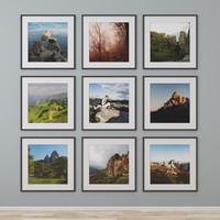 photo wall mountains 3ds
