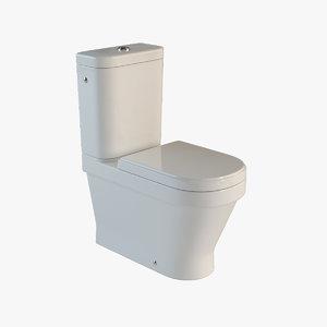 toilet laufen 3d model