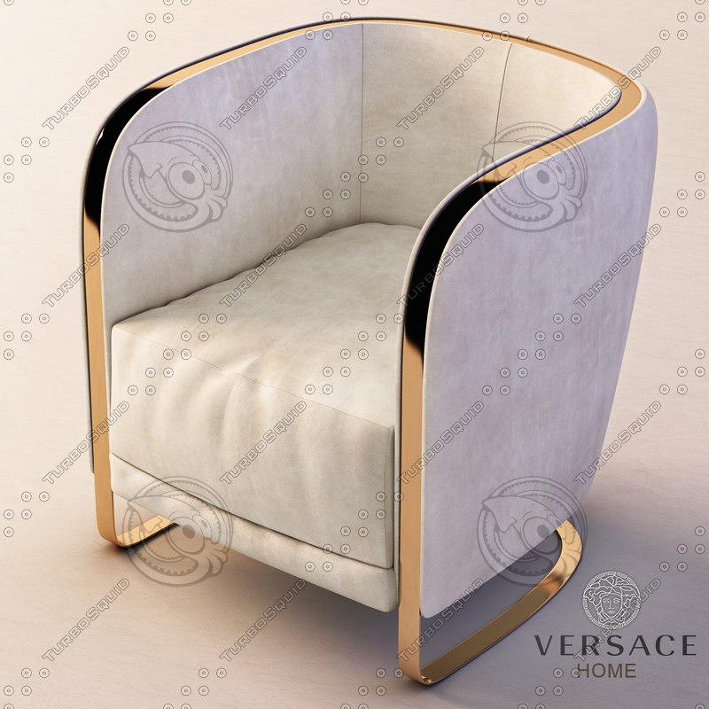3d model herald armchair