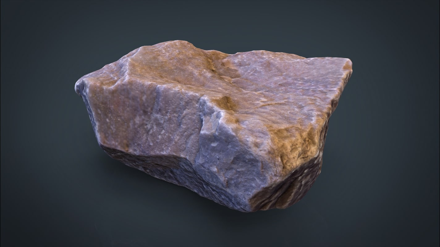 3d real stone