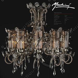 3d chandelier mechini marina putilovskaya model