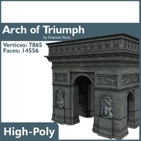 arch triumph arc 3ds