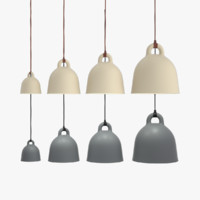 bell lamp lighting 3d obj