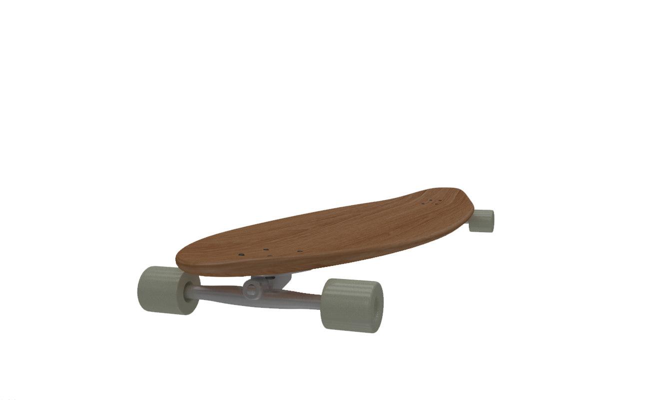 3d longboard decks