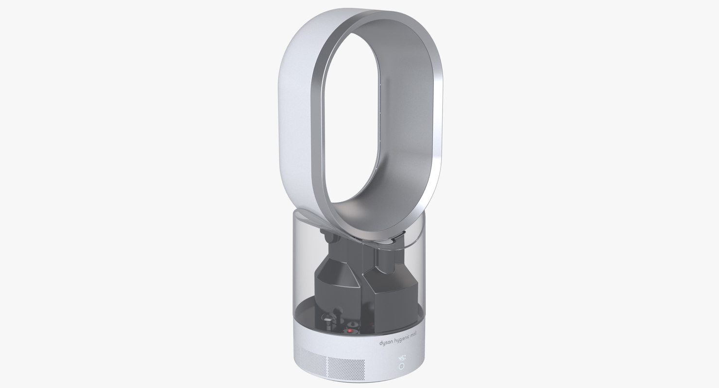 3d photoreal humidifier dyson am-10 model