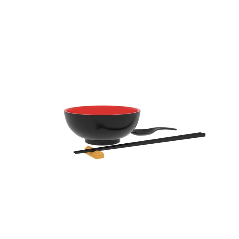 3ds max japanese kitchen set