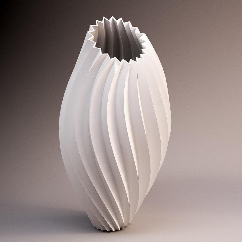 vase artwork - del 3d model