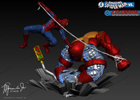 Amazing Spiderman vs Colossus