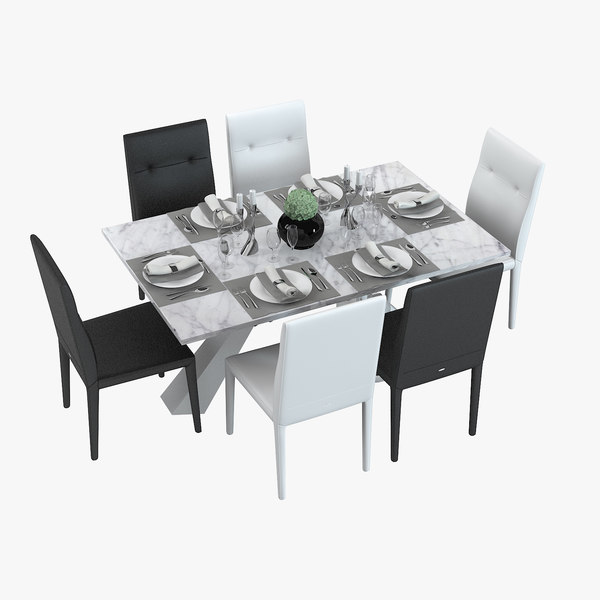 table served dining max