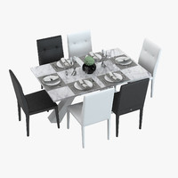 Served Dining Table