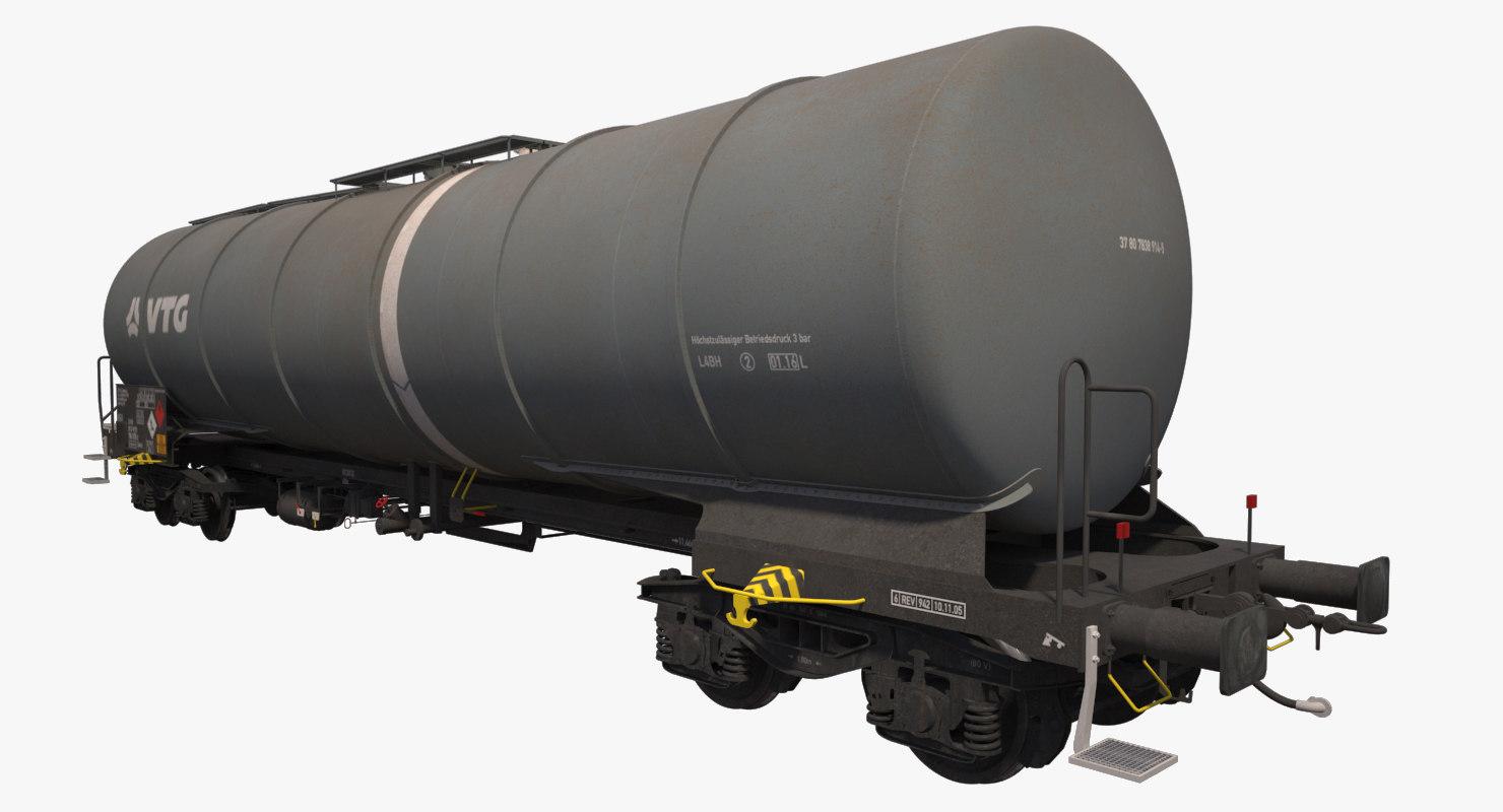 3dsmax tank railcar zacns