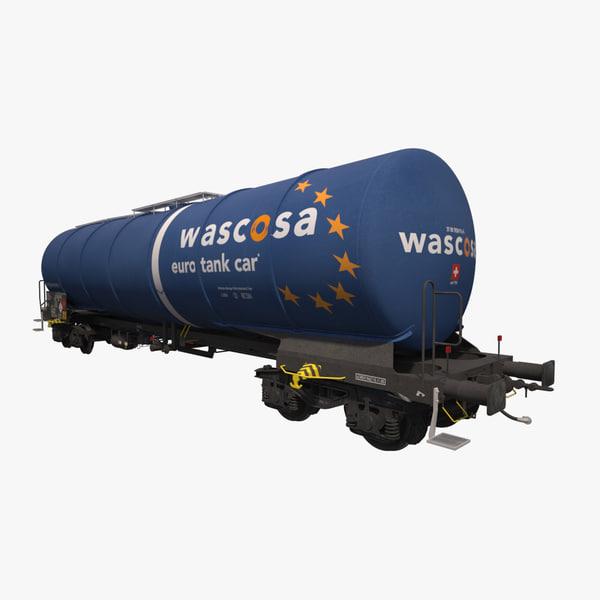 3d tank railcar zacns