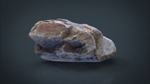 3d model real stone 7