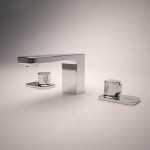 3d model toto kiwami renesse faucet