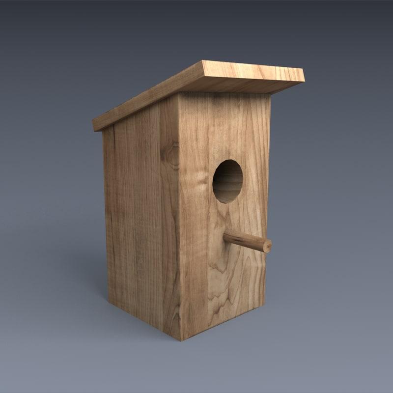 3d nest box model