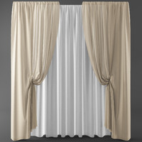 3d curtains blinds