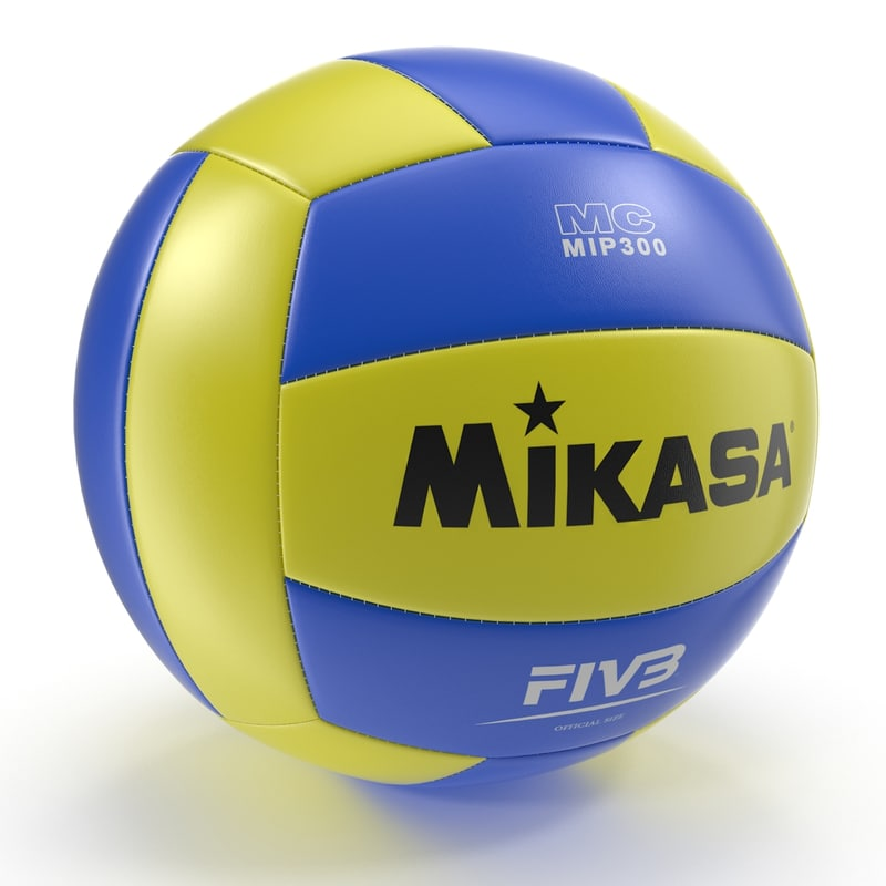 volley ball volleyball 3d ma