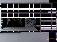 exclusive modern mirror 3d model