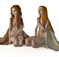 3d model enchanted dolls