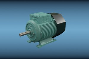 3dsmax electric motor