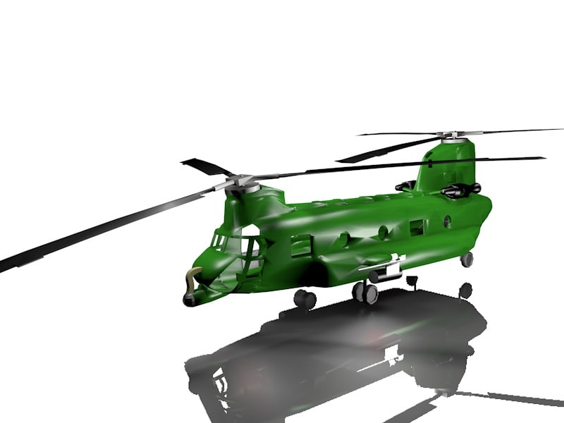 helicopter 3ds
